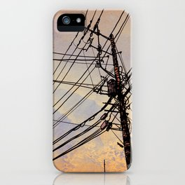 wires up iPhone Case