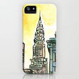 Chrysler Building - New York iPhone Case