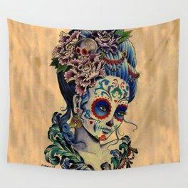 Marie de los Muertos Wall Tapestry