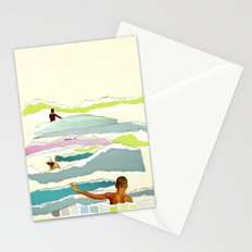 Sun and Surf Stationery Cards