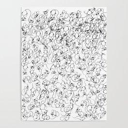 Many Mini Mice Poster