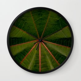 Center of the Leaf Wall Clock