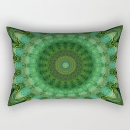 Mandala Anahata Rectangular Pillow