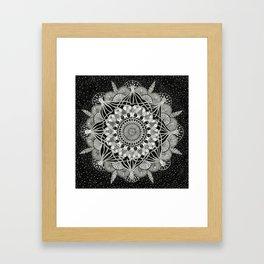 Fins + Feathers Framed Art Print