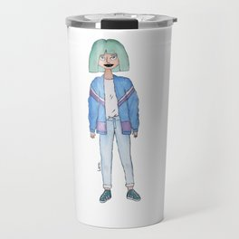 Fashion girl Travel Mug