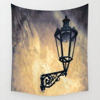 lantern Wall Tapestries featuring Lantern by Maria Heyens