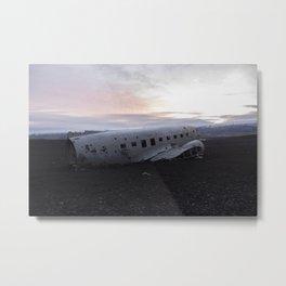 DC-3 At Sunrise Metal Print