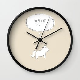believe in me Wall Clock