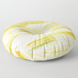 Lotion abstract watercolor Floor Pillow