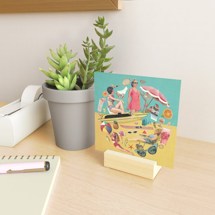 Out of Office Mini Art Print
