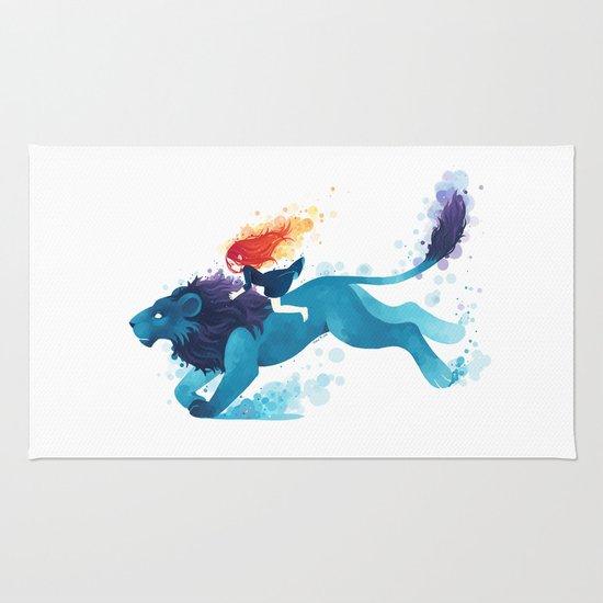 Lion Rider Rug