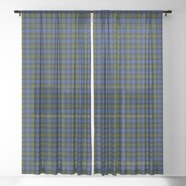 Gunn Tartan Plaid Sheer Curtain