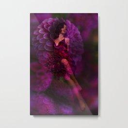 Flower Bed Metal Print