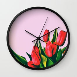 Spring is around Wall Clock