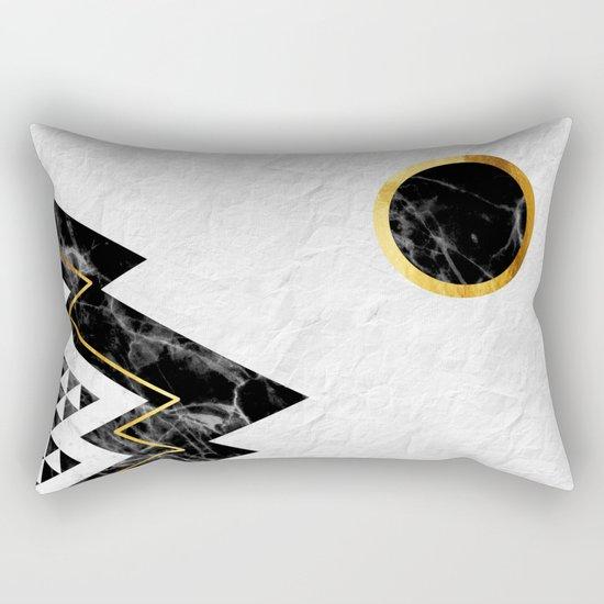 Black Mountains Rectangular Pillow
