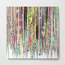Fringe Benefits Metal Print