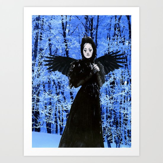 Nevermore - Edgar Allan Poe Art Print