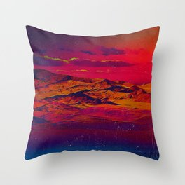 Time Wind Throw Pillow