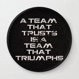 A team that trusts Wall Clock