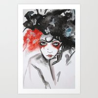 vendetta Art Prints featuring Vendetta by Valeri Prokopenko