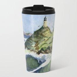 Peaceful Lighthouse V Travel Mug