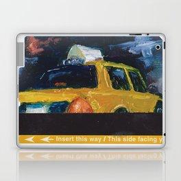 Subway Card NYC Taxi Painting Laptop & iPad Skin