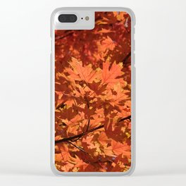 Fall Glow Clear iPhone Case