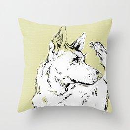 Howl Along Throw Pillow