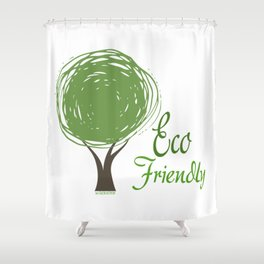 ECO Collection - model 4 Shower Curtain