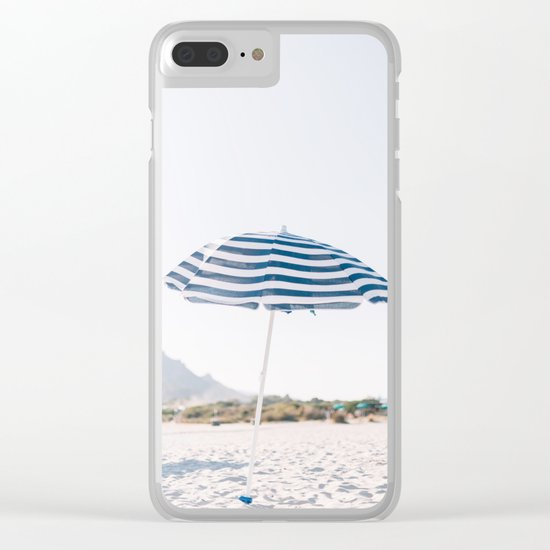 Throwing Shade Clear iPhone Case