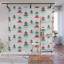 MCM Christmas Tree Forest Wall Mural