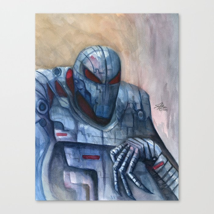 Sinister Syndroid Canvas Print