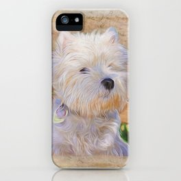 Just One Look - Dog Art iPhone Case