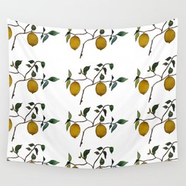 Lemons // Squeeze the Day Wall Tapestry