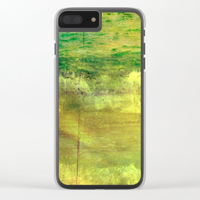Forgotten Days Clear iPhone Case