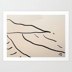 Playa Vasca Art Print