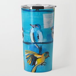 Bird Celebration Travel Mug