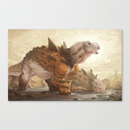 Stegopelta Herdleader Canvas Print