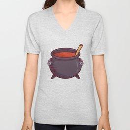 Witche's Cauldron Unisex V-Neck