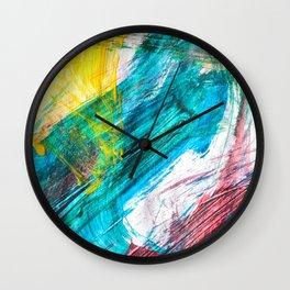 Summer's Colors Wall Clock