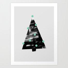 Christmas Tree 1 Art Print