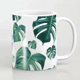 Tropical Monstera Pattern #3 #tropical #decor #art #society6 Coffee Mug