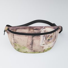 A Maine Country Fence Fanny Pack