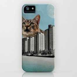 Cat City iPhone Case