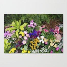 Floral Spectacular - Spring Flower Show Canvas Print