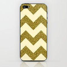 Chevron Gold iPhone & iPod Skin