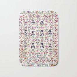 Ura Tube Suzani Uzbekistan Embroidery Bath Mat