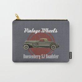 Vintage Wheels: Duesenberg SJ Roadster Carry-All Pouch