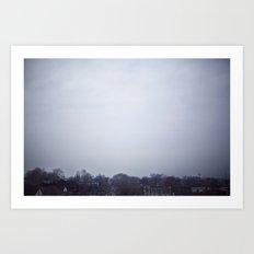 Winter Skies II Art Print