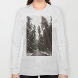Redwood Forest Adventure II - Nature Photography Long Sleeve T-shirt